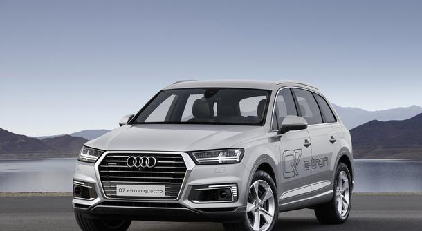 Audi Q7 E-Tron Quattro – Now Also Petrol-Powered