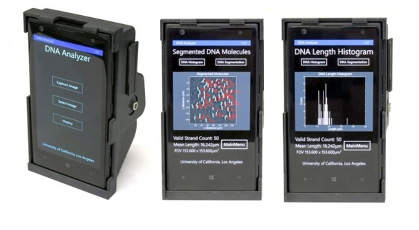 Accessory That Turns a Smartphone into DNA Scanner