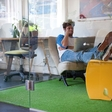 Flux: Functional foldable furniture, or from envelope to a designer chair