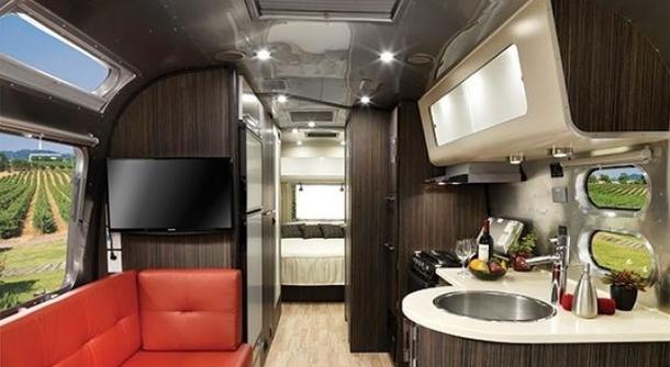 Airstream: luxury travel on wheels