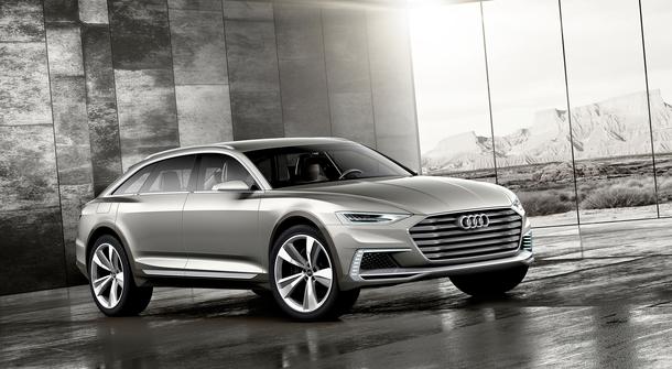 Audi Prologue Allroad – the Hybrid Future