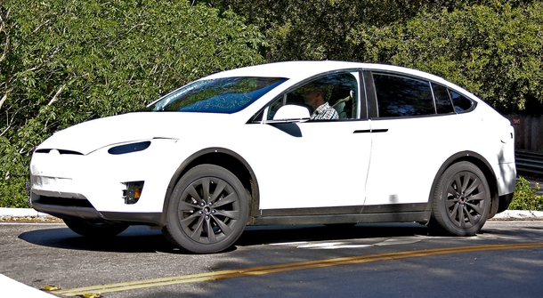 The Tesla X is Already on the Road