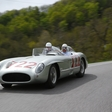 Stirling Moss at Mille Miglia in Mercedes-Benz 300 SLR