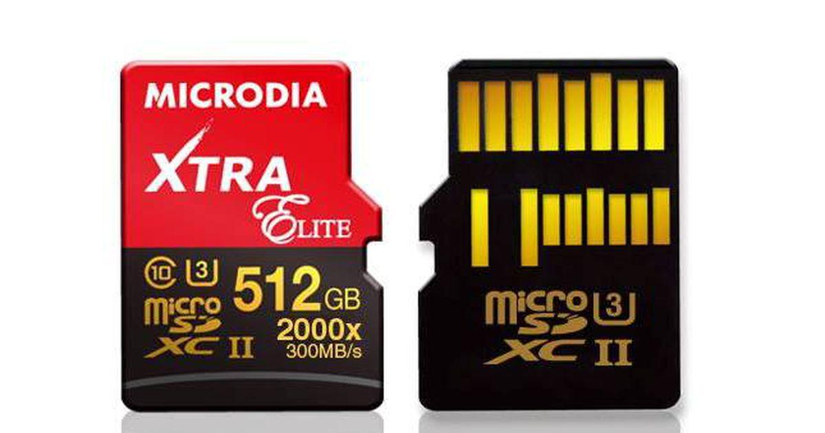 512gb memory card: