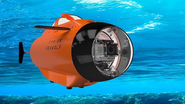 S podmornico Seawolf boste lahko posneli svoje podvodne avanture.