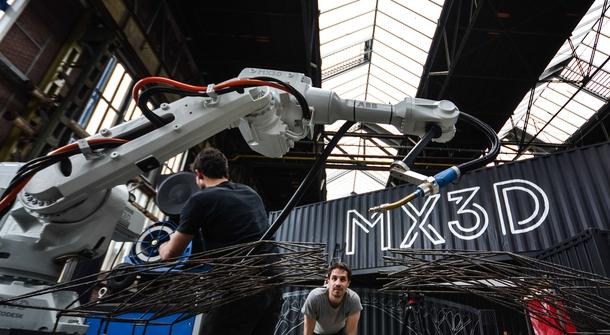 Dutch Company MX3D to create World's First 3D Printed Steel Bridge