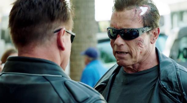 See Arnie Prank Fans as The Terminator