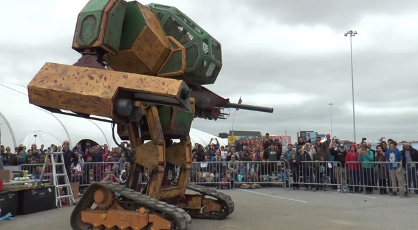 Robo Wars! Japanese Suidobashi accepts challenge issued by American MegaBots