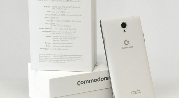 The legend lives: Commodore is back with an Android Phone