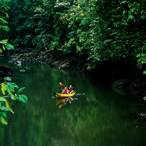The most beautiful places include Monteverde, famous for its cloud forest, and Manuel Antonio Park, one of the smallest natural parks in the country, but famed for its unspoiled beaches, which are full of birds and the endemic tití monkeys, who opportunistically steal any fruit they spot, should you decide to take a cooling dip in the ocean. Another must-see site is Corcovado, listed by National Geographic as the most biologically intense place on Earth. It is said no other place in the tropics has such a wealth of biodiversity. Despite being one of the most expensive places to visit, it's well worth the money.