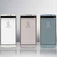 LG's phone with a Second Screen and two selfie cameras
