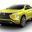 Mitsubishi eX Concept - electric crossover