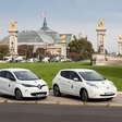 200 electric cars at the environmental conference in Paris