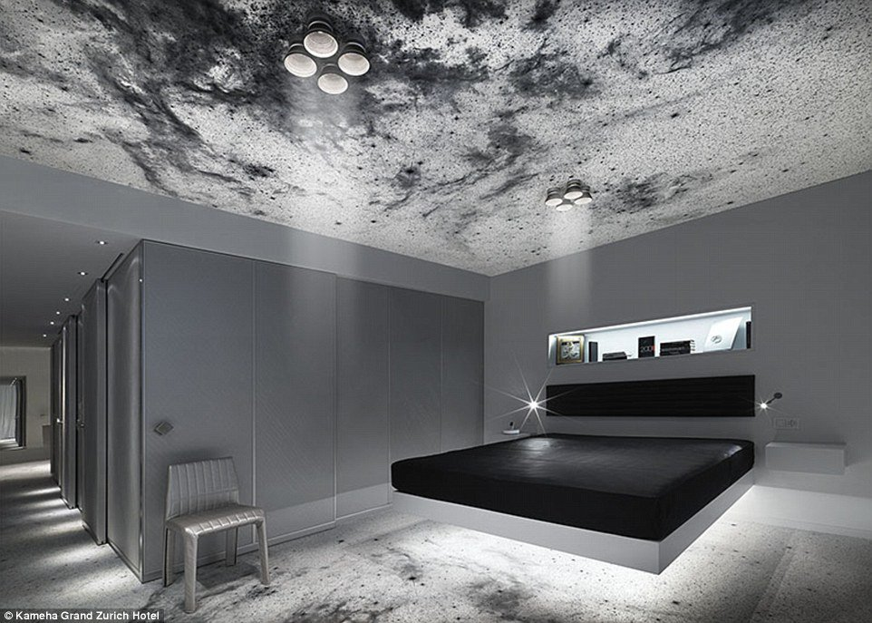 The kameha grand hotel will you sleep in outer space for Outer space urban design