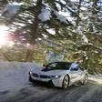 BMW i8: Electric snow