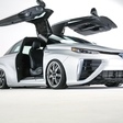 Toyota Mirai goes Back to the Future