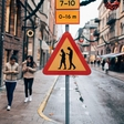Traffic signs for the smartphone-addicted generation