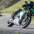 The very first test ride of Energica Eva