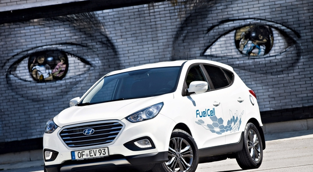 Hyundai is to cut the prices of fuel cell cars in half