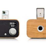 Wooden clock radio Vers 1.5R, Vers,  www.greendepot.com
