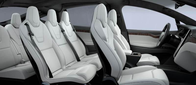 Suv Tesla Interior >> Synthetic Leather Interior Tesla Gone Vegan Driving Plugin