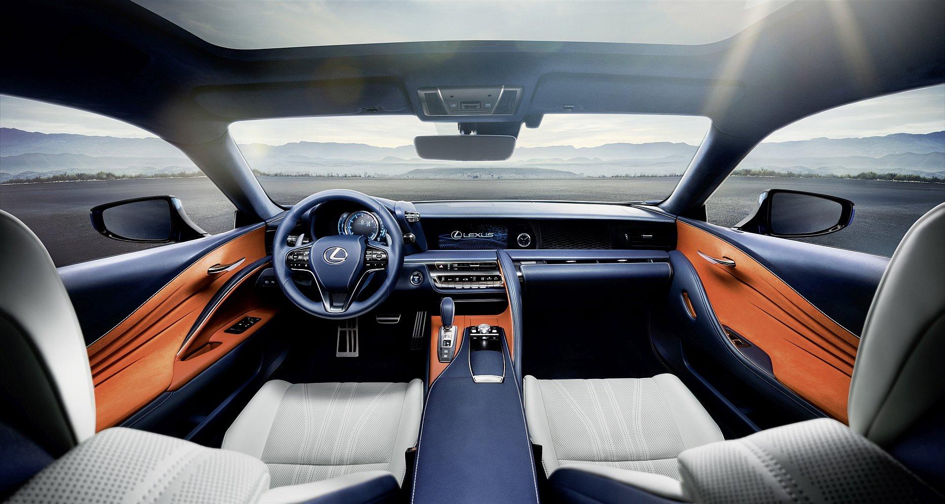 lexus lc 500h the luxurious hybrid coup   driving   plugin magazine