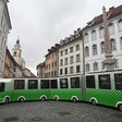 Hop on Urban, the zero-emission sightseeing train in Ljubljana!