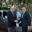 Prince Albert's new electric ride, the e-NV200