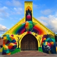 Okuda San Miguel art: a vibrant rebirth of a Moroccan Church