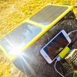 Power your device with magnetic photovoltaic system