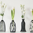 Make plastic bottles useful with 3D printed vases