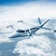 In the air: Diamond Aircraft