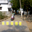India is creating a 3D optical illusion for safer highways