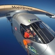Bertrand Piccard took off to Tulsa, Oklahoma