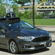 Uber's first self-driving car test-driving in Pittsburgh