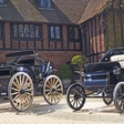 An electric classic car duo to be auctioned at Historics at Brooklands