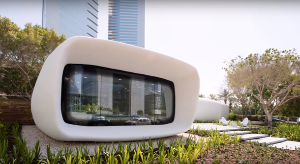 World's first 3D-printed office building