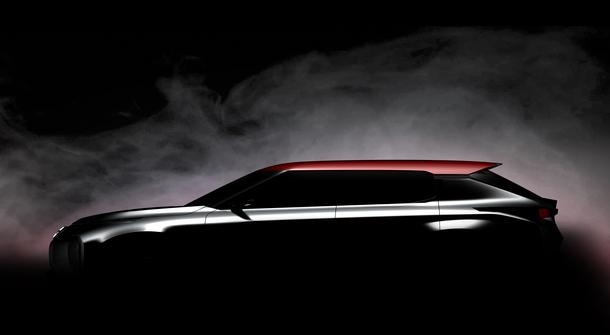 Mitsubishi Ground Tourer Concept previewed