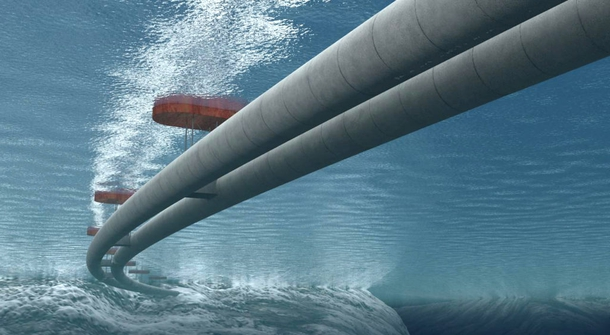 A world's first: submerged floating tunnels coming to Norway