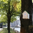 Smart birdhouse-like measuring boxes offer free WiFi access to fight air pollution