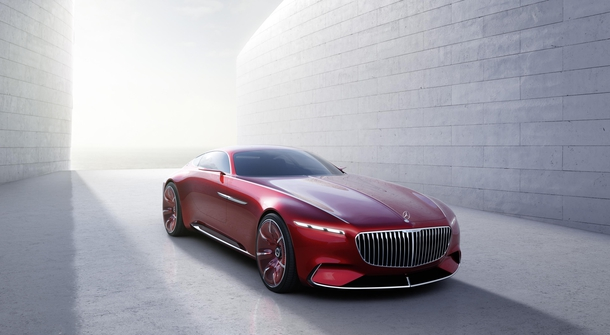 Vision Mercedes-Maybach 6: Vision in the ultimate luxury on wheels