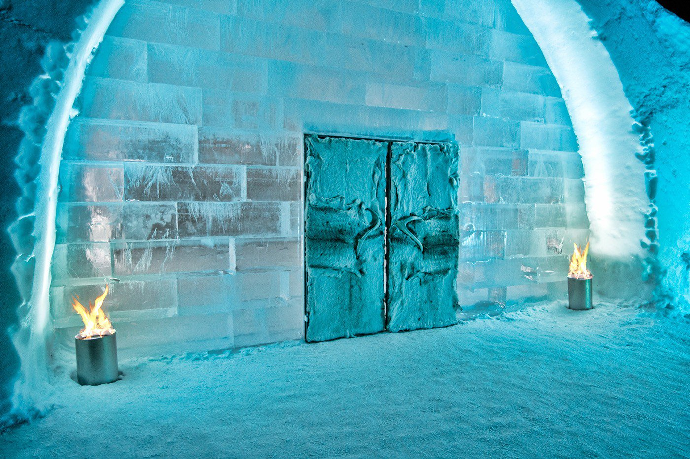 icehotel 365 will keep itself cool by using solar power living plugin. Black Bedroom Furniture Sets. Home Design Ideas
