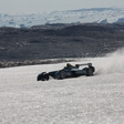 Formula E on Arctic ice