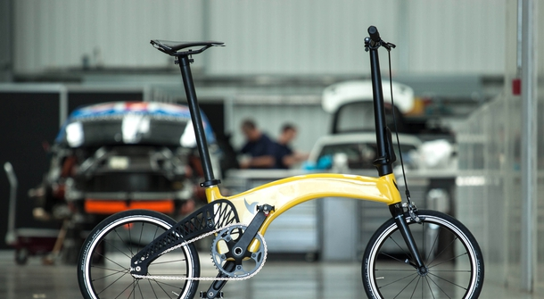 Hands down, this is the lightest folding bike in the world!