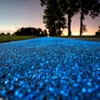 Glow in the Dark Bicycle Path unveiled in Poland