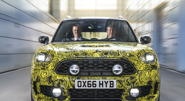The plugin hybrid Mini is on its way!