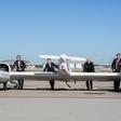 The first hydrogen fuel cell passenger aircraft took off