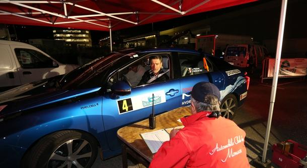 Hydrogen Toyota Mirai's historic win at the E-Rally Monte-Carlo