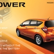 Nissan with its new electric-motor drivetrain