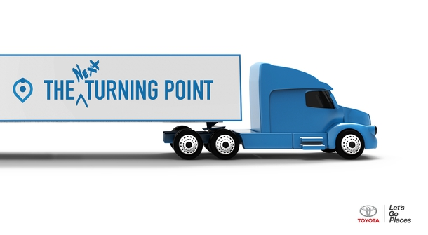 Toyota will be adapting its hydrogen fuel cell technology to power heavy-duty trucks